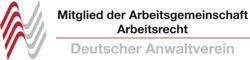 Mitglied der Arbeitsgemeinschaft Arbeitsrecht im Deutschen Anwaltverein